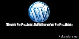 11 Powerful WordPress Scripts That Will Improve Your WordPress Website